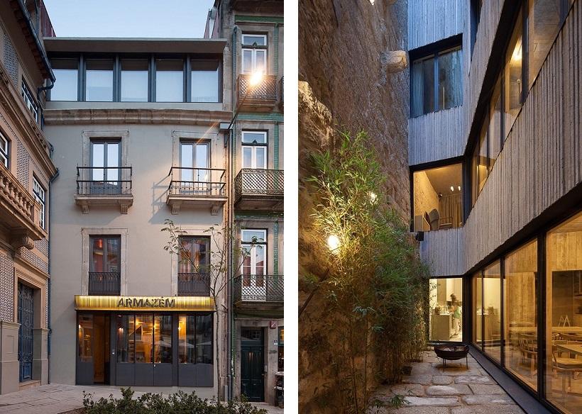 fatada hotel reconversie arhitectura contemporana