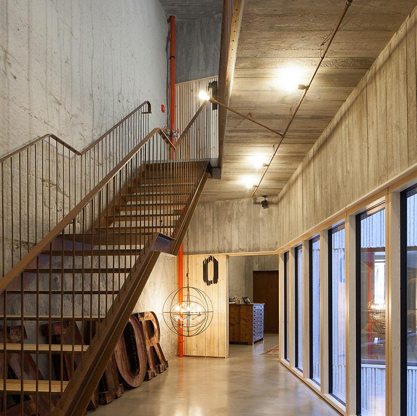reconversie hotel arhitectura contemporana