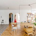 Design de apartament transformat in spatiu de lucru