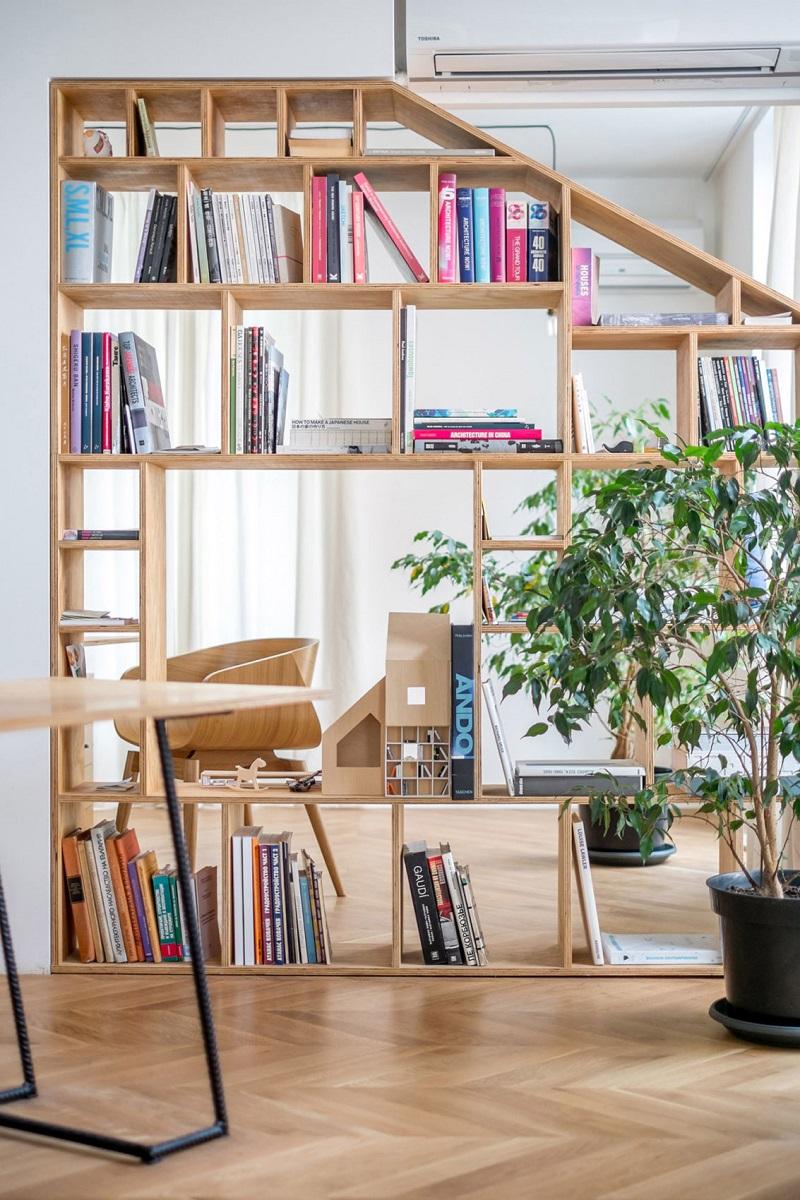 design interior apartament spatiu de lucru