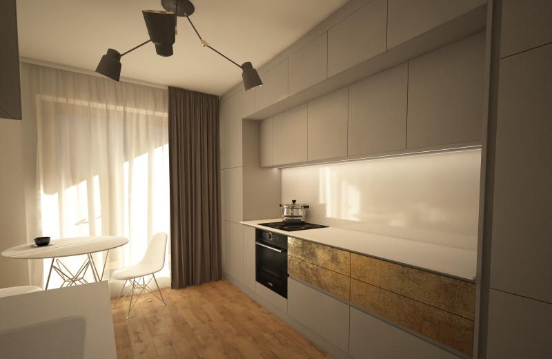 design interior bucatarie duplex kiwistudio