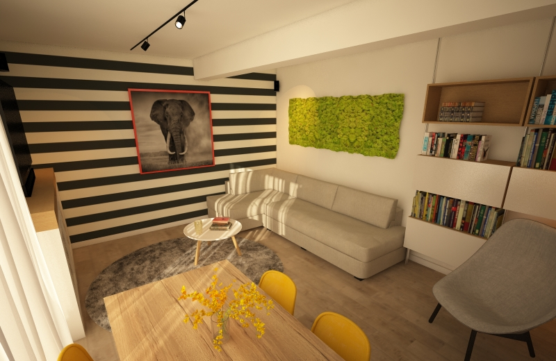 design interior dungi kiwistudio
