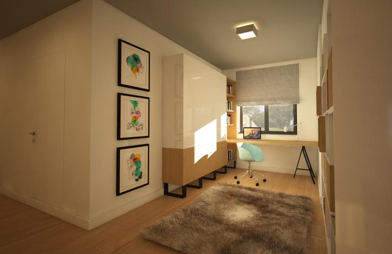 spatiu lucru design interior kiwistudio