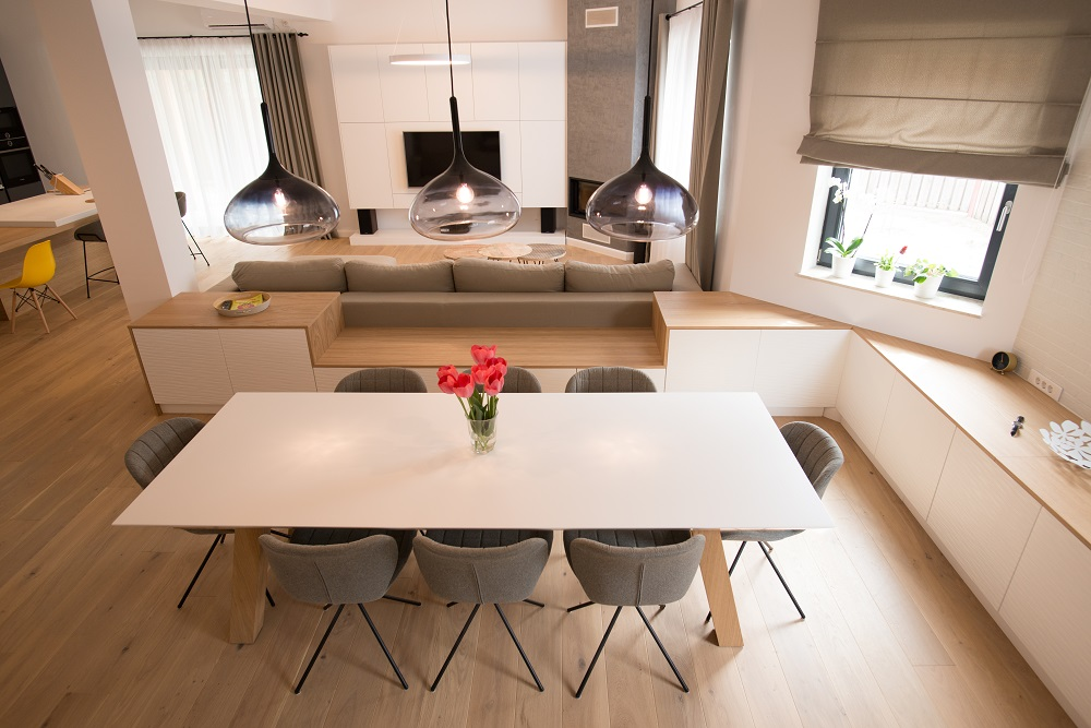 design interior open space dining