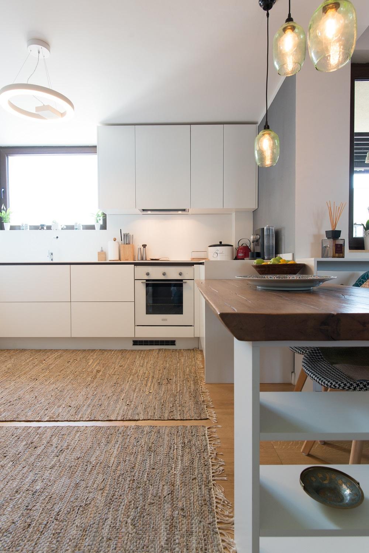 design interior apartament bucatarie
