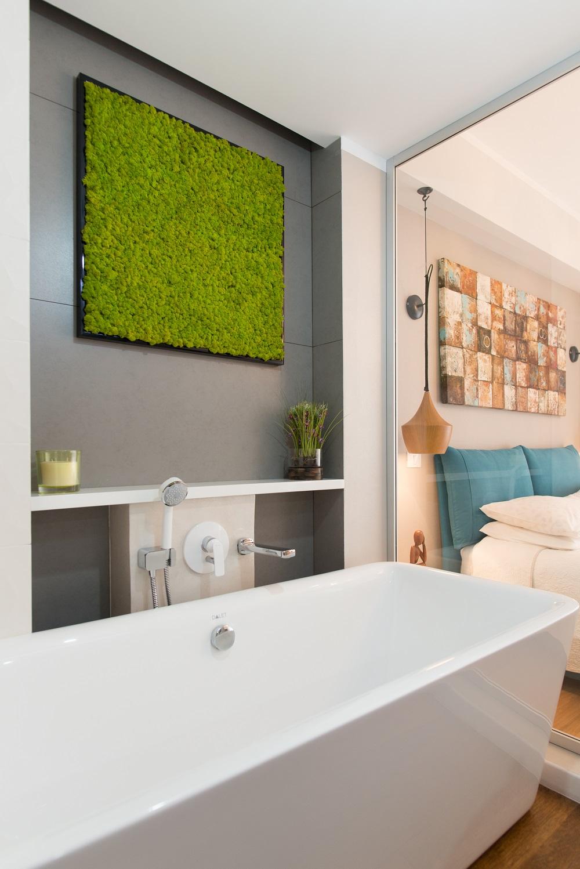 design interior baie licheni