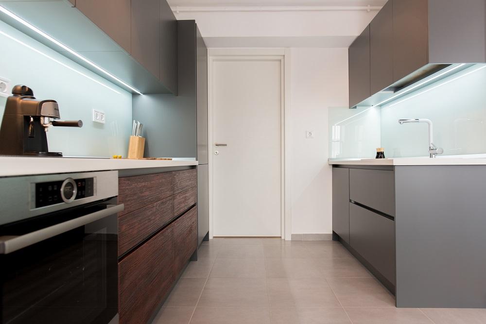 design interior duplex bucatarie