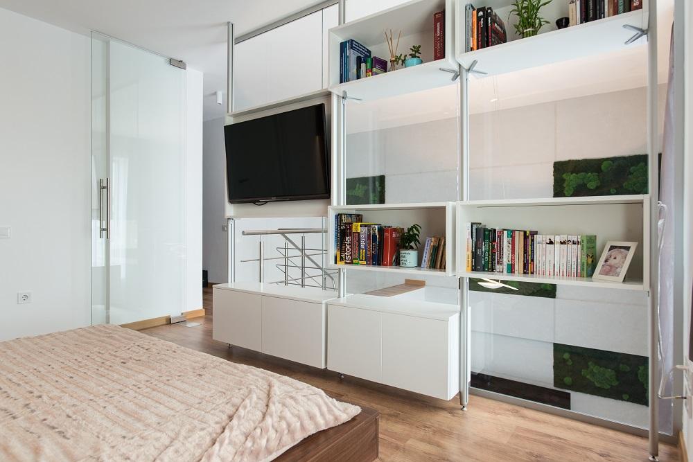 design interior duplex dormitor