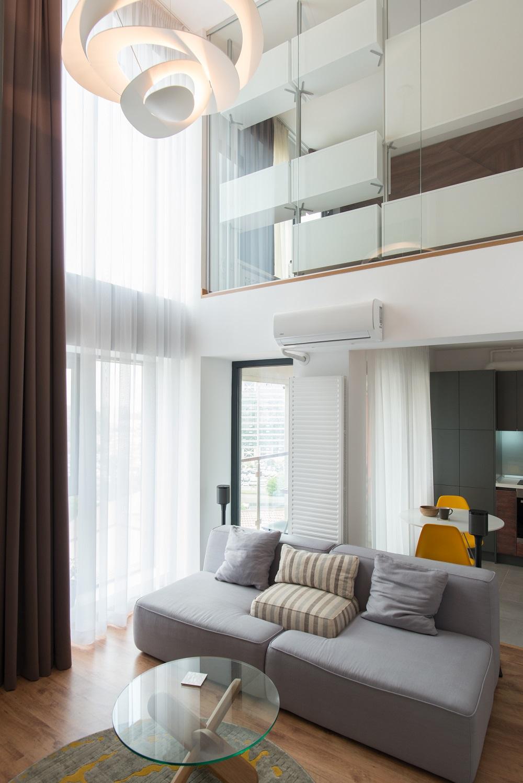 design interior duplex open space living