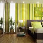 Verde la amenajari interioare