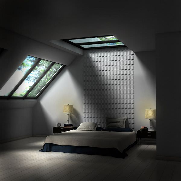 attic dormer lighting ideas - KiwiStudio