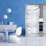 Design interior sticla