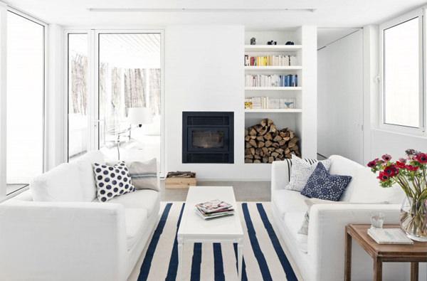 Arhitectura contemporana pentru o casa in padure