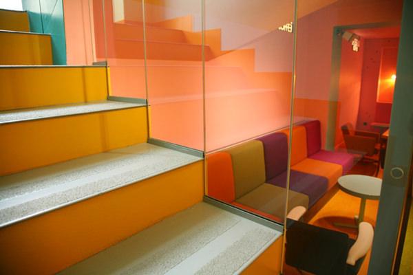 Design interior pentru o cafenea