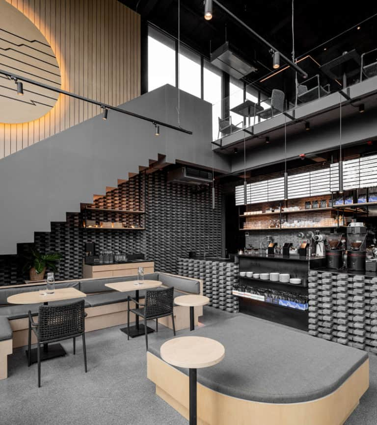 amenajare cafenea industrial
