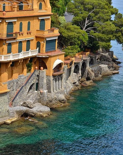 arhitectura din portofino italia casa la tarm