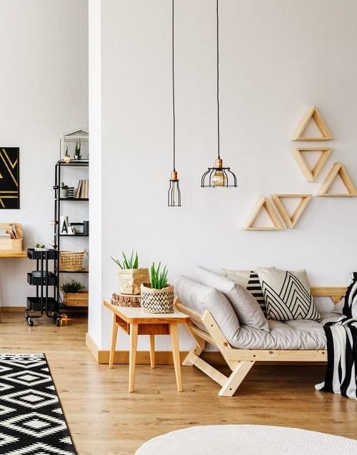 Design interior scandinav pentru living