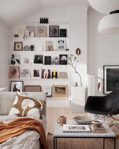 Design interior living in stil nordic