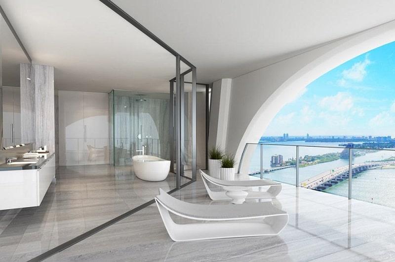 Design interior Zaha Hadid in casa lui Beckham
